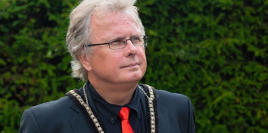 Jon Harvey, Mayor of Buckingham Town